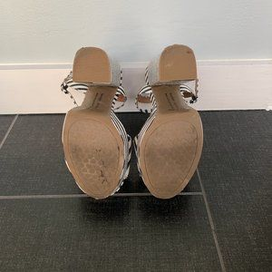 Chinese Laundry Shoes - Chinese Laundry Abie Striped Platform Sandals